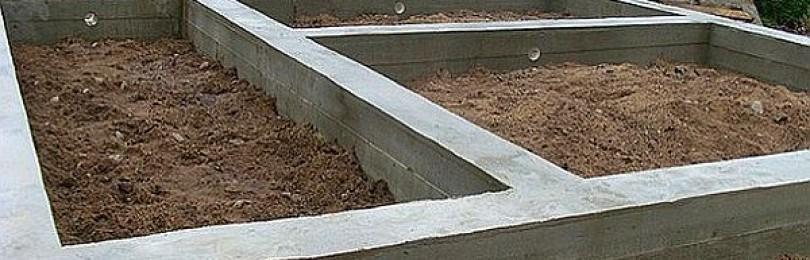 Мелкозаглубленный ленточный фундамент – 10 шагов по возведению