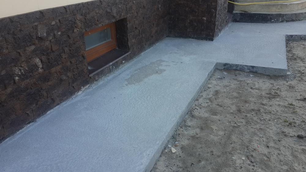 Как делать отмостку из бетона