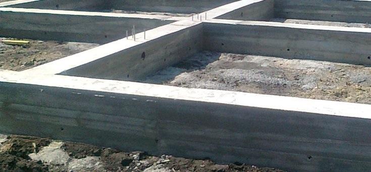 Строительство ленточного фундамента своими руками по этапам
