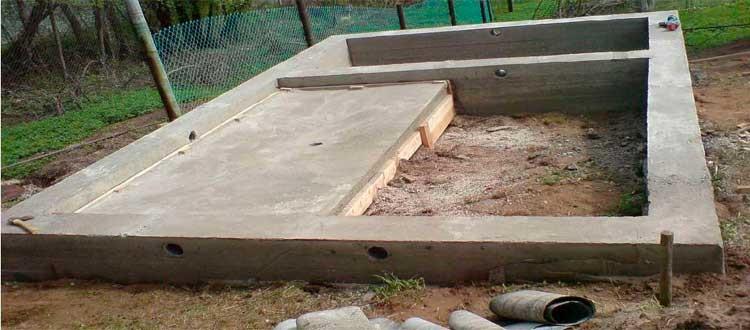 Фундамент для бани: особенности строительства