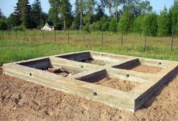 Фундамент под баню 6х4: особенности и этапы строительства